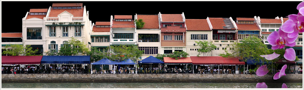 Restaurants on Clarke's Quay Singapore